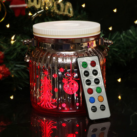 HOME MOST Color Changing Waterproof Mason Jar Lights with Remote (4.5
